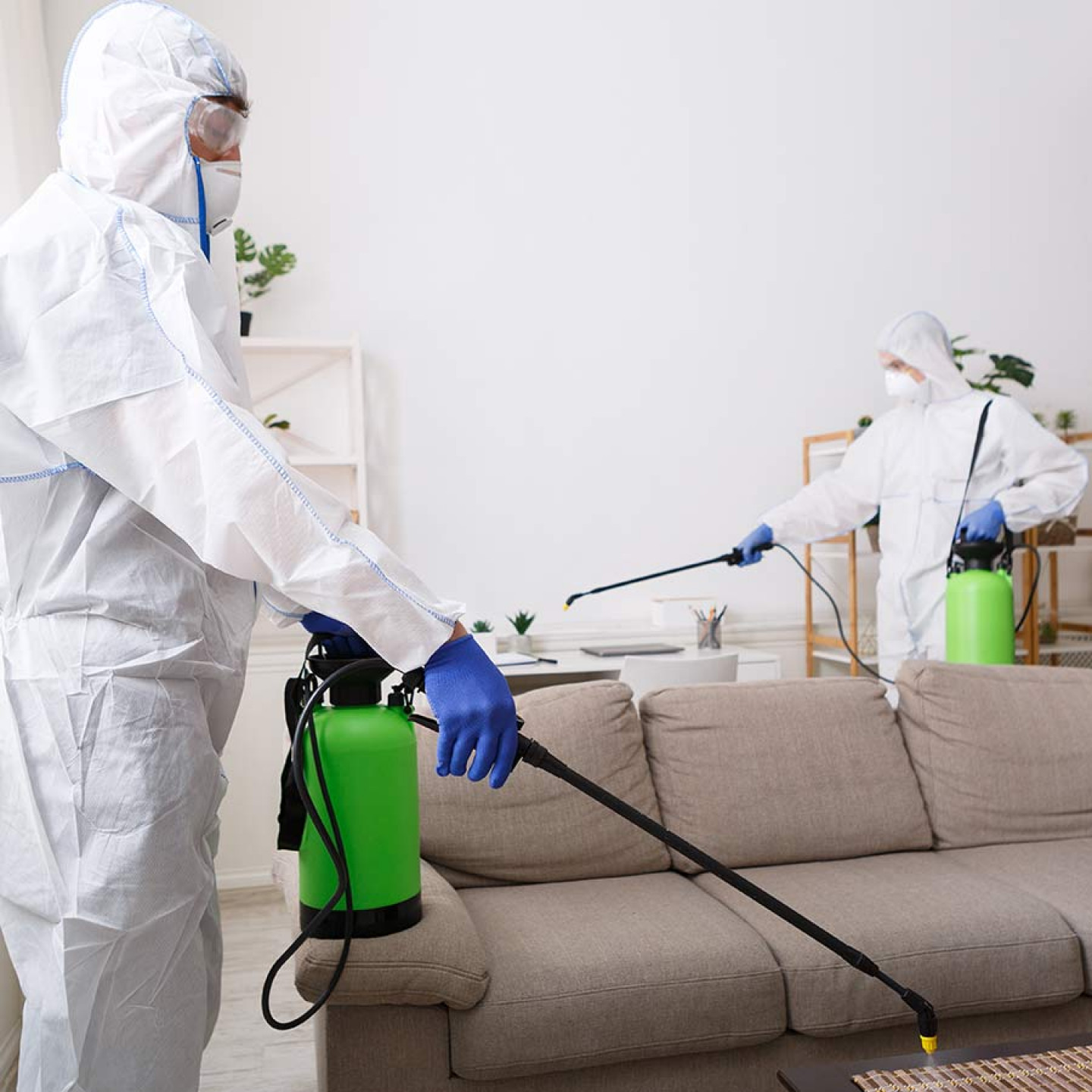 How we'll clean your space